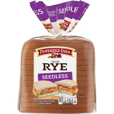 Pepperidge Farm Jewish Rye Seedless Bread - 16oz