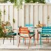 Opal Tropical Print Outdoor Seat Cushion DuraSeason Fabric™ White - Opalhouse™ - image 4 of 4