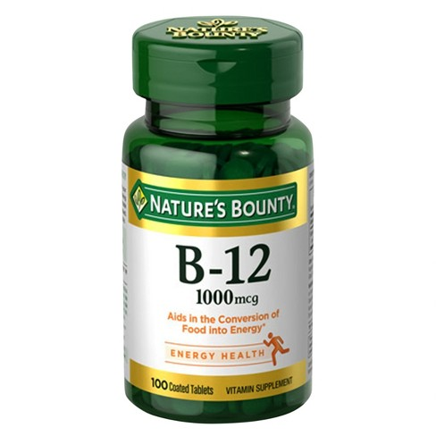 Nature's Bounty Vitamin B12 Dietary Supplement Tablets - 100ct - image 1 of 1