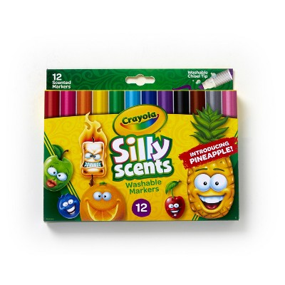 Crayola 12ct Silly Scents Markers Chisel Tip