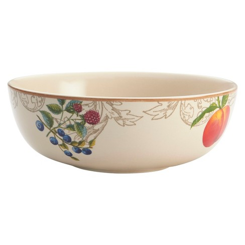 "Bonjour Orchard Harvest Round Serving Bowl (9"") - image 1 of 1"