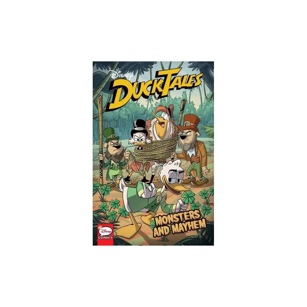 Ducktales 5 - Monsters and Mayhem - by Steve Behling & Joey Cavalieri & Joe Caramagna (Paperback)