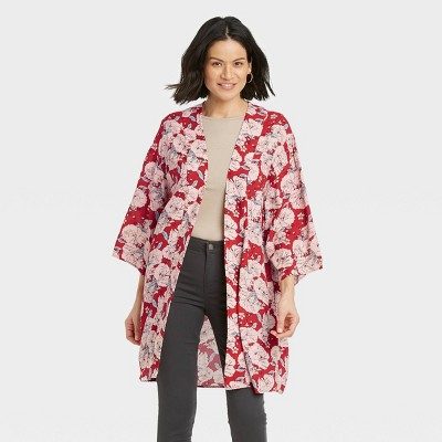 Women's Jacket - Knox Rose™ Red Floral