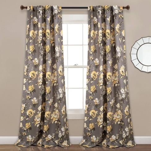 Room Darkening Window Curtain Panels