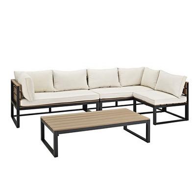 4pc All-Weather Patio Conversation Set - Saracina Home
