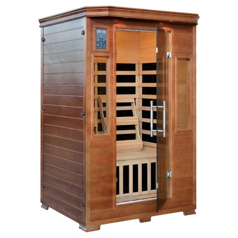 Majestic Saunas 2-Person Hemlock Premium Infrared Sauna with 6 Carbon Heaters - image 1 of 9
