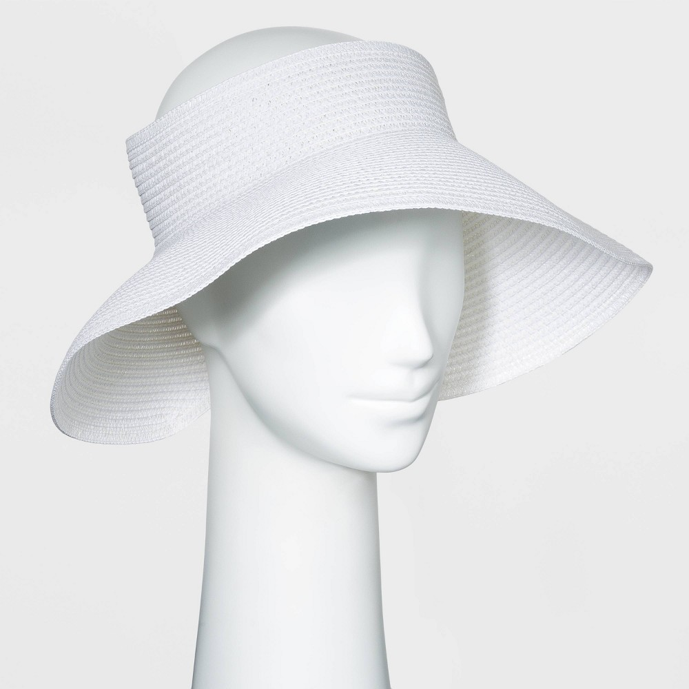 Cheap Women' traw Vior Hat - A New Day™ White