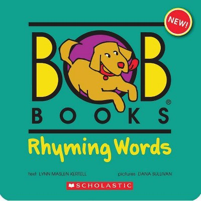 Bob Books - Rhyming Words Box Set Phonics, Ages 4 and Up, Kindergarten, Flashcards (Stage 1: Starting to Read) - by  Lynn Maslen Kertell
