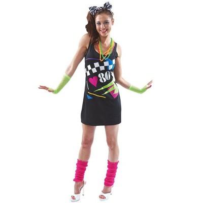 I Love the 80's Costume Dress