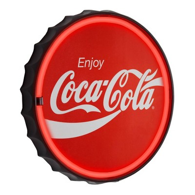 Coca-Cola Officially Licensed LED Neon Light Sign Red - Crystal Art Gallery
