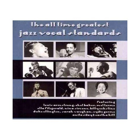Various Artists - All Time Greatest Jazz Vocal Standards (CD) - image 1 of 1