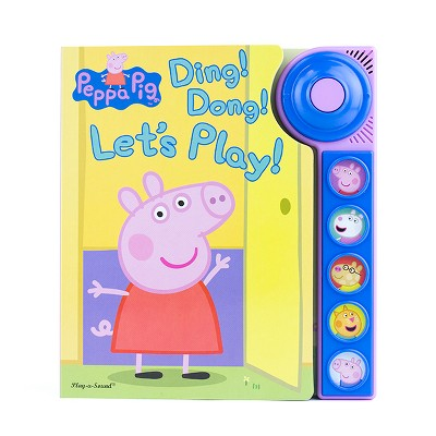 Peppa Pig Ding Dong Let's Play (Board Book)(Phoenix International)