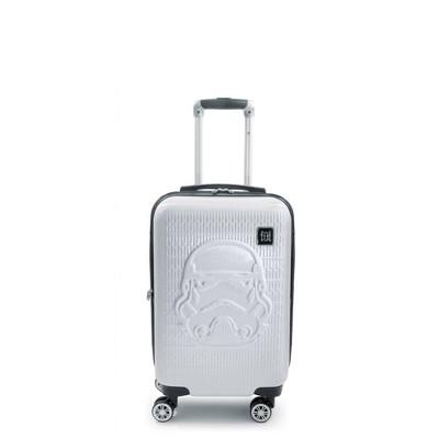 "FUL Star Wars Stormtrooper Embossed 21"" Spinner Suitcase - White"