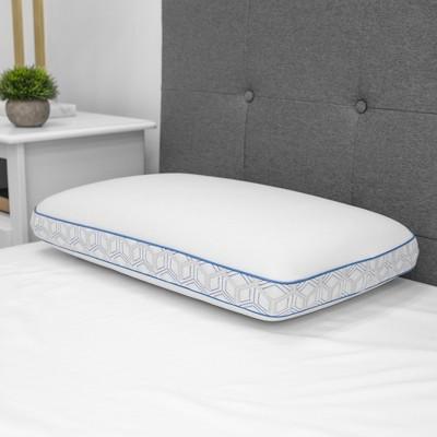 SensorPEDIC Cool Coat Gel-Infused Memory Foam Performance Pillow