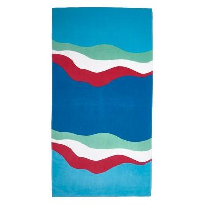 Beach Towel Summer Aqua