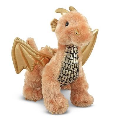 Melissa & Doug Luster Dragon Stuffed Animal