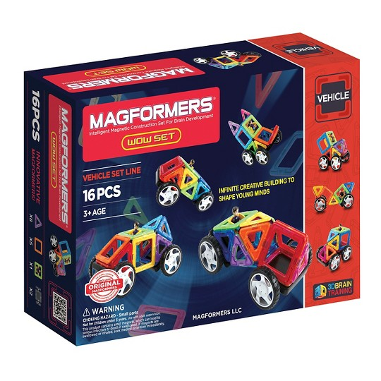 Magformers Wow Set, Magnetic Building Sets image number null