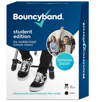 Bouncy Bands Student Edition for Middle/High School Chairs Black