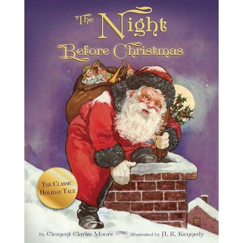 The Night Before Christmas - by  A E Kennedy & Clement Clarke Moore (Board_book) - image 1 of 1