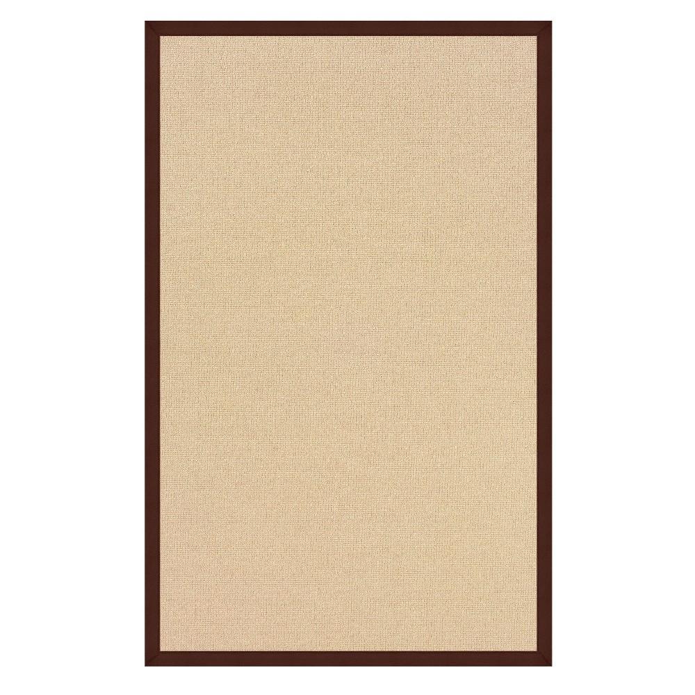 4 39 X6 39 Athena Wool Area Rug Brown Linon