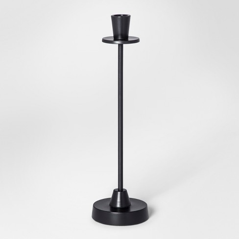 Taper Candle Holder Large - Black - Project 62™ - image 1 of 1