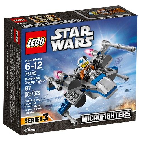 Lego Star Wars Resistance X Wing Fighter 75125 Target