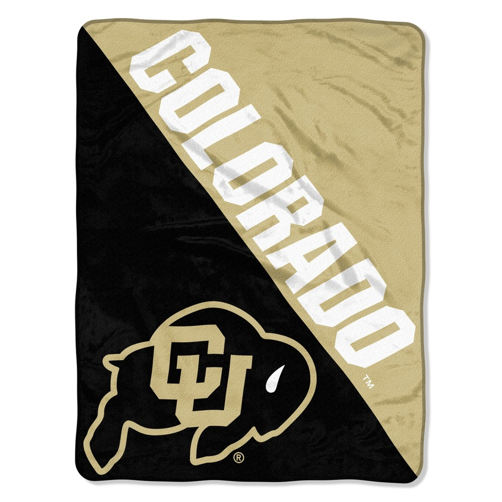 NCAA Colorado Buffaloes Micro Fleece Throw Blanket