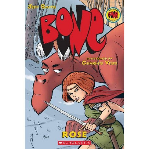 Rose (Bone Prequel) - (Bone Reissue Graphic Novels (Paperback)) by  Jeff Smith (Paperback) - image 1 of 1