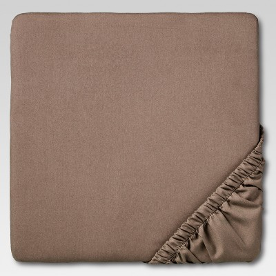 Ultra Soft Fitted Sheet (Full)Birch 300 Thread Count - Threshold™