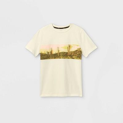 Boys' Cactus Graphic Short Sleeve T-Shirt - art class™