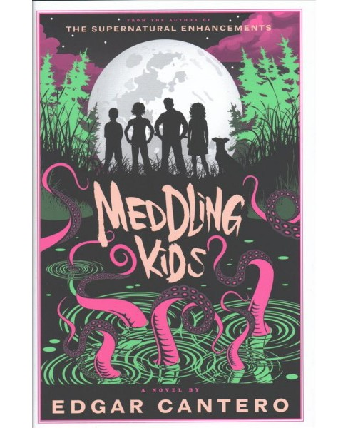 Meddling Kids -  (A Blyton Summer Detective Club Adventure) by Edgar Cantero (Hardcover) - image 1 of 1