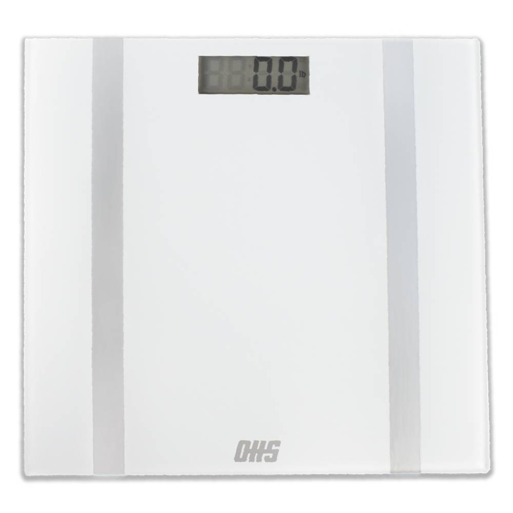 Image of Form Digital Bathroom Scale White - Optima Home Scales