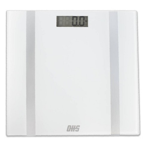 Form Digital Bathroom Scale White - Optima Home Scales - image 1 of 3