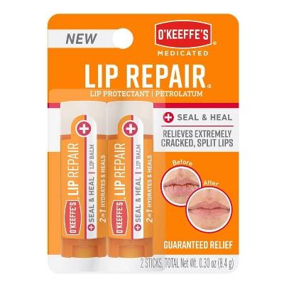 O'Keeffe's Lip Repair Seal & Heal Balm - 2pk