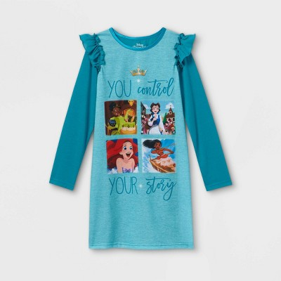 Girls' Disney Princess Nightgown - Blue