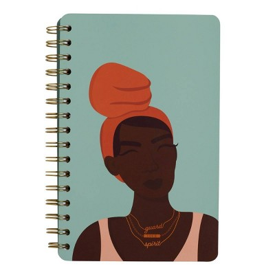 Lined Spiral Journal Guard Your Spirit - Be Rooted