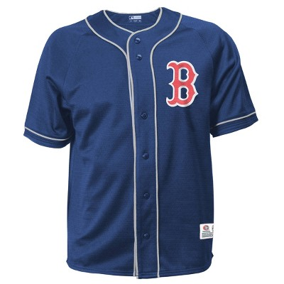 MLB Boston Red Sox Men's Button-Down Jersey