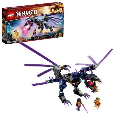 LEGO NINJAGO Legacy Overlord Dragon; Ninja Playset Building Kit Featuring Posable Dragon Toy 71742