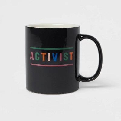 15oz Stoneware Activist Mug - Room Essentials™
