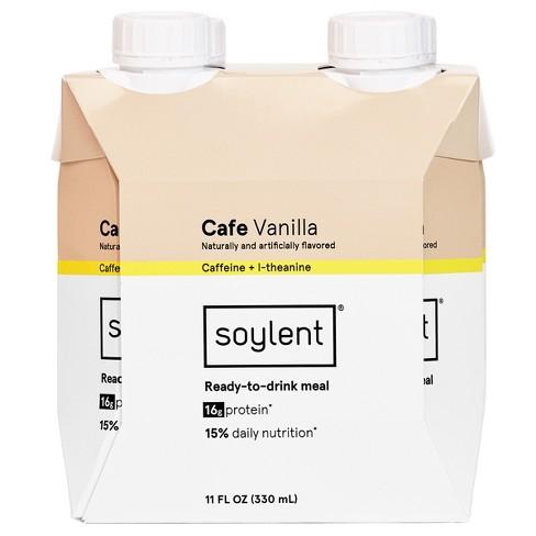 Soylent Nutritional Shake - Cafe Vanilla - 11 Fl Oz/4pk : Target