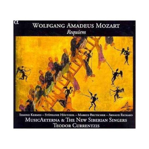 Music Aeterna - Wolfgang Amadeus Mozart: Requiem (CD) - image 1 of 1