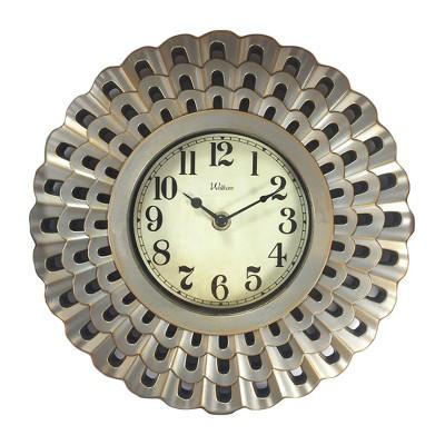 "10"" Scalloped Case Wall Clock"