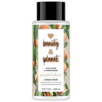 Love Beauty & Planet Shea Butter & Sandalwood Purposeful Hydration Conditioner - 13.5 fl oz