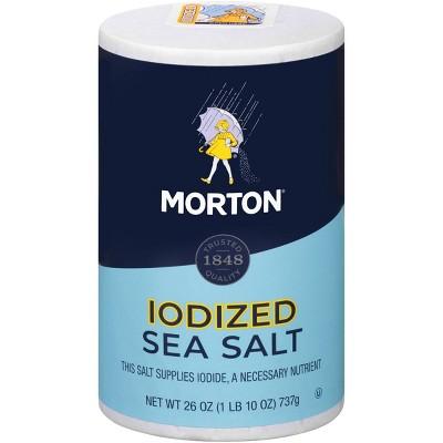 Morton Iodized Sea Salt - 26oz