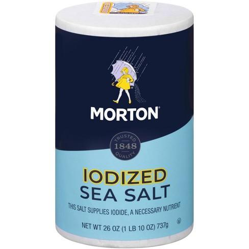 Morton Iodized Sea Salt - 26oz - image 1 of 4