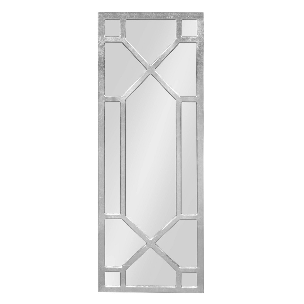 """Image of """"18""""""""x47"""""""" Vanderford Decorative Wall Mirror Silver - Kate and Laurel"""""""