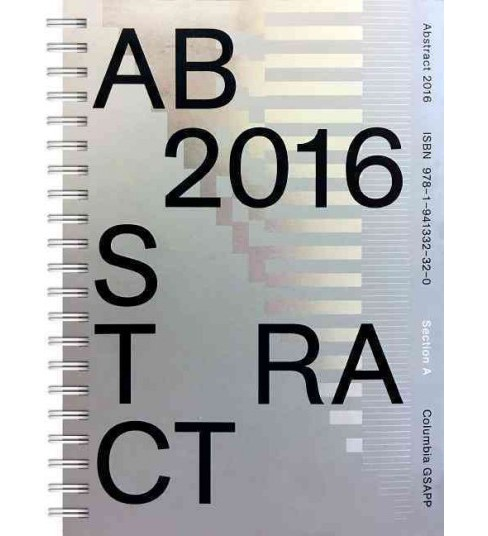 Abstract 2016 (Paperback) - image 1 of 1