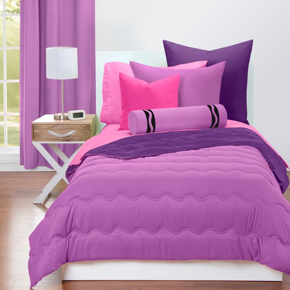 Crayola Vivid Violet Comforter Sets (Full/Queen), Purple