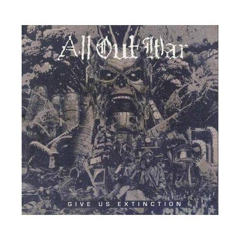 All Out War - Give Us Extinction (CD) - image 1 of 1