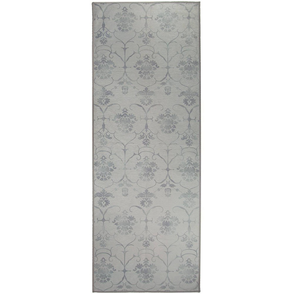 "Image of ""2'5""""x7' Runner Leyla Rug Gray - Ruggable, Size: 2'5""""x7'"""